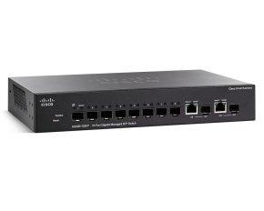 Cisco SG300-10SFP 8 Port Managed Desktop Switch