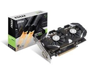 EXDISPLAY MSI GeForce GTX 1050 Ti 4GB OC GDDR5 Graphics Card