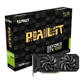 Palit Geforce GTX 1060 Dual 3GB GDDR5 Graphics Card