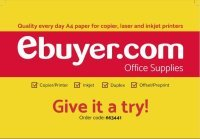 Ebuyer Paper Sample - 50 sheets