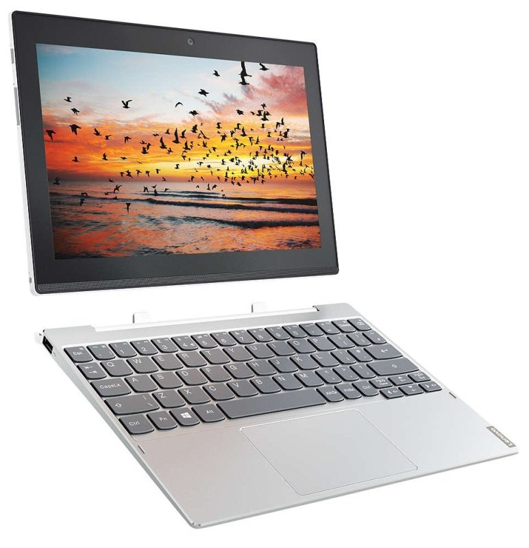 "Lenovo Miix 320-10ICR 80XF Intel Atom x5, 10.1"", 4GB RAM, 64GB eMMC, Windows 10, Tablet - Silver"