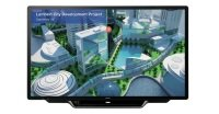 Sharp PN-70TH5 70inch 3840 x 2160pixels Multi-touch Multi-user Black touch screen monitor