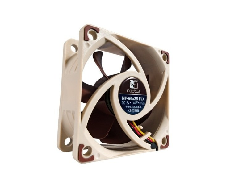 Noctua NF-A6x25 FLX 60mm Low Noise Fan