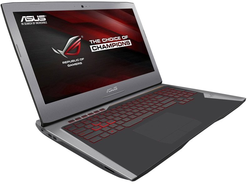 "Image of ASUS ROG G752VS Gaming Laptop, Intel Core i7-7820HK 2.9GHz, 16GB DDR4, 1TB HDD, 256GB SSD, 17.3"" FHD, DVDRW, NVIDIA GTX1070 8GB, WIFI, Windows 10 Home 64bit"