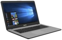 "ASUS VivoBook Pro 17 N705UD-GC103T Intel Core i5, 17.3"", 8GB RAM, 1TB HDD and 128GB SSD, Windows 10, Notebook - Gray"