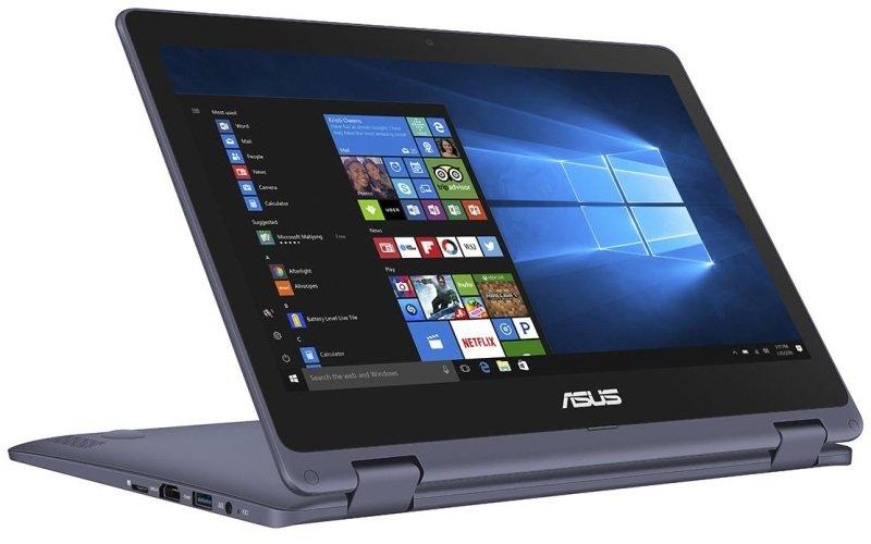 "ASUS VivoBook Flip 12 TP202NA EH007T Intel Celeron, 11.6"", 2GB RAM, 32GB eMMC, Windows 10, Notebook - Gray"