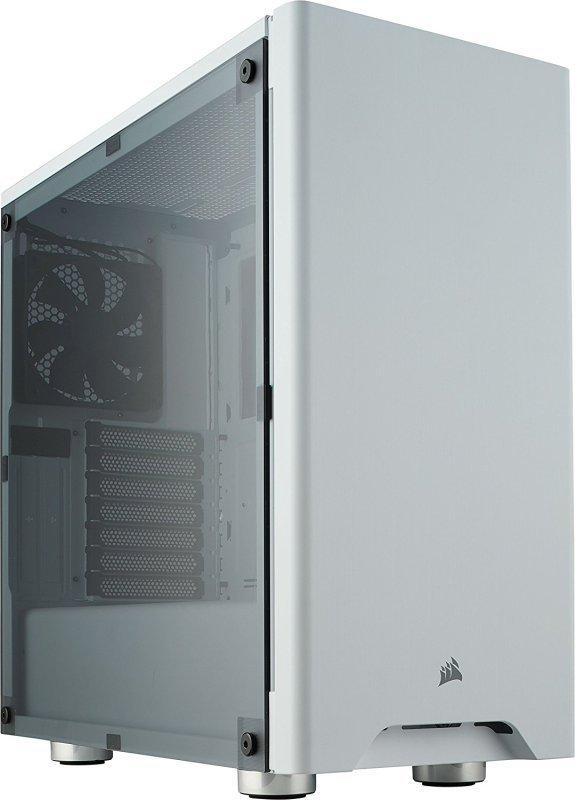 Corsair Carbide Series 275R Mid-Tower White Acrylic Window Gaming Case