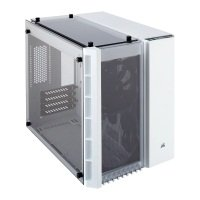 Corsair Crystal White 280X Micro ATX Case