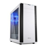 Sharkoon M25-W ATX Mid Tower Case - White