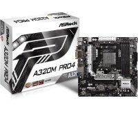 EXDISPLAY ASRock A320M Pro4 socket AM4 Intel DDR4 MicroATX Motherboard