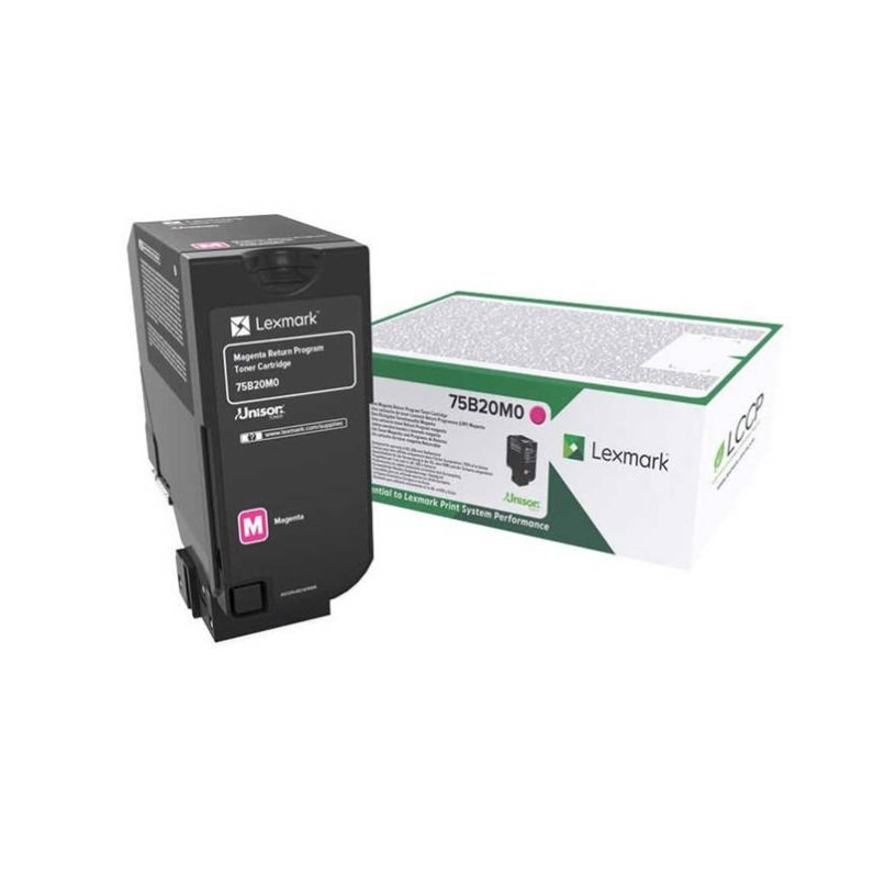 Lexmark 10K Magenta Return Program Toner Cartridge