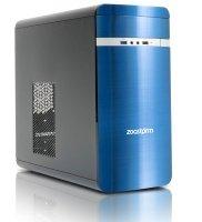 EXDISPLAY Zoostorm Evolve Desktop PC AMD A6 7400K 8GB RAM 1TB HDD DVDRW Intel HD Windows 10 Home - Blue