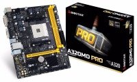 EXDISPLAY Biostar AMD A320MD Pro Socket AM4 mATX Motherboard