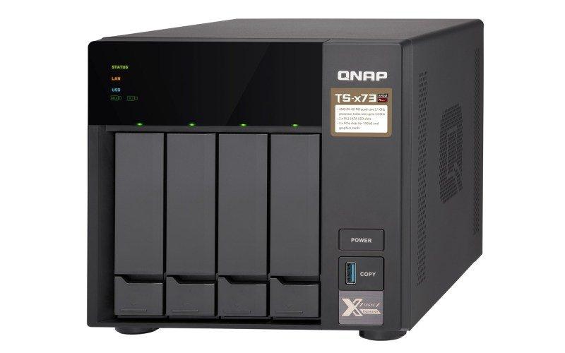 QNAP TS-473-8G 4 Bay Desktop NAS Enclosure with 8GB RAM
