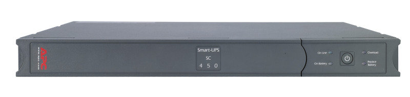 APC Smart-UPS SC 450 VA / 280 Watt 1U Rack UPS