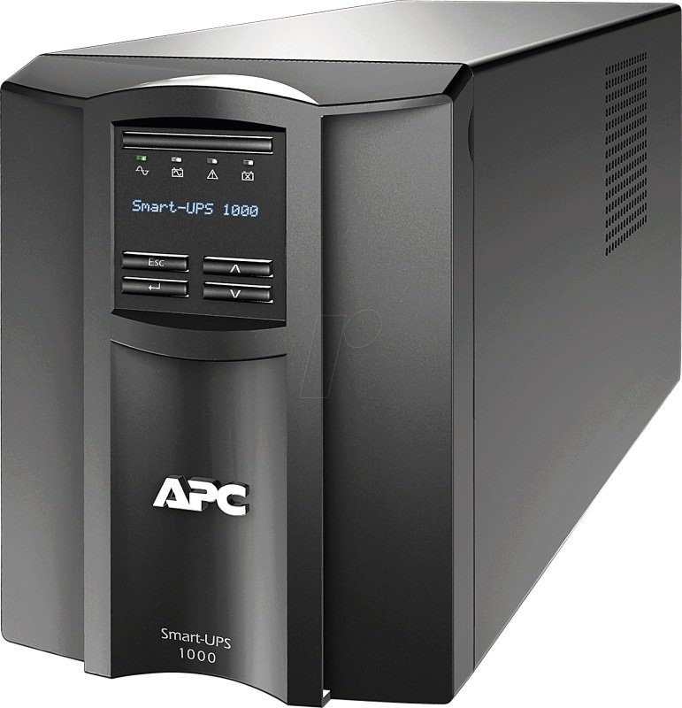 APC Smart-UPS SMT1000IC 700 Watt / 1000 VA with APC SmartConnect