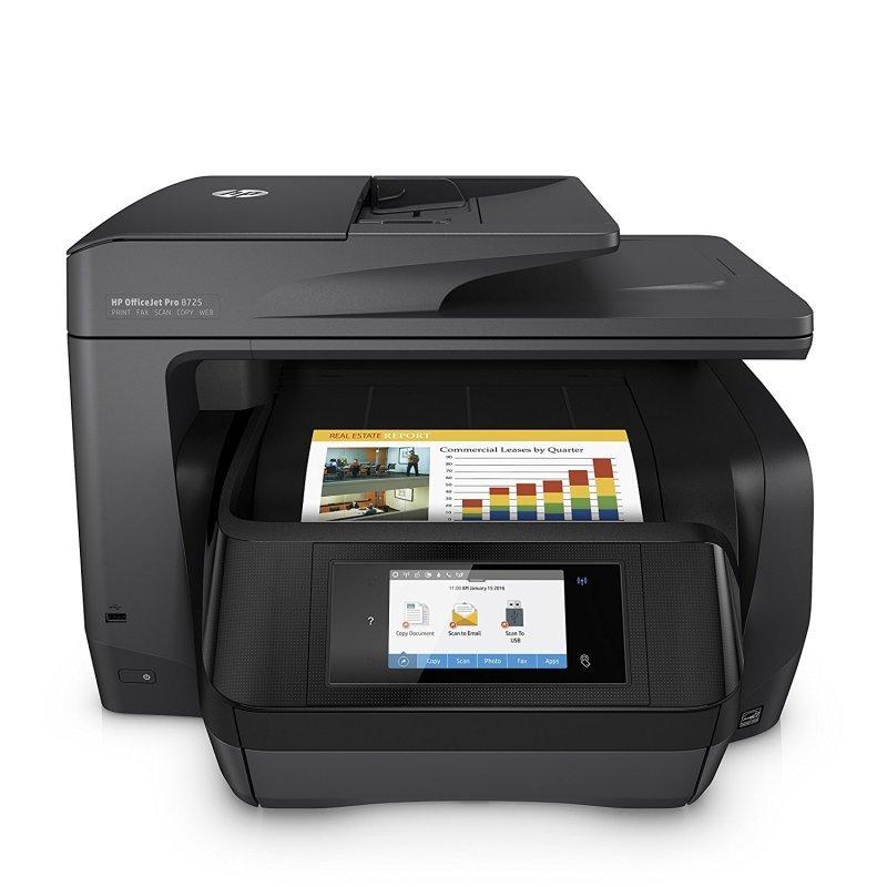 HP Officejet Pro 8725 Wireless All-in-One Printer | Ebuyer com