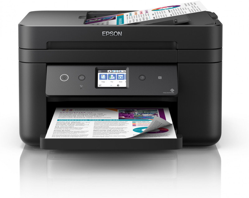 Epson WorkForce WF-2860DWF Wireless Multi-Function A4 Inkjet Printer