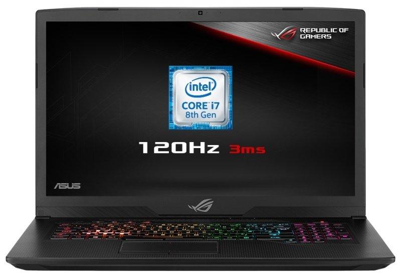 "ASUS ROG Strix 17 GL703GM-EE014T Intel Core i7, NVIDIA GeForce GTX 1060, 17.3"", 16GB RAM, 1TB HDD and 256GB SSD, Windows 10, Notebook - Black"