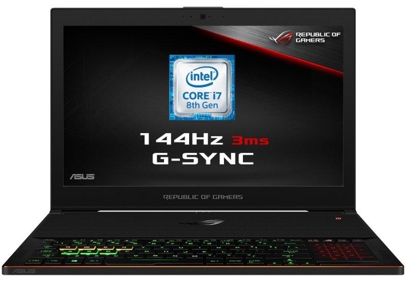 "ASUS ROG Zephyrus GX501GI-EI005T Intel Core i7, NVIDIA GeForce GTX 1080, 15.6"", 8GB RAM, 512GB SSD, Windows 10, Notebook - Black"