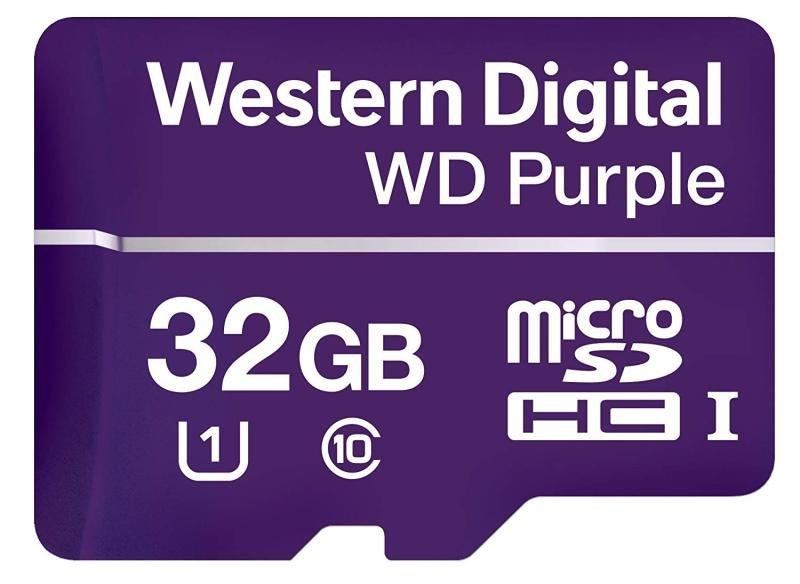 WD Purple MicroSD Card 32GB
