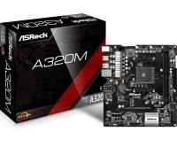 ASRock A320M AM4 DDR4 mATX Motherboard