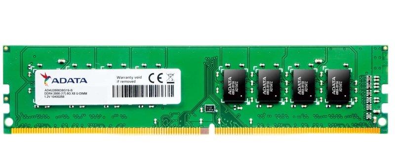 Image of Adata Premier 8GB DDR4 2666 U-DIMM Memory