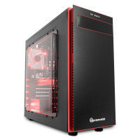 EXDISPLAY PC Specialist Vanquish Striker Pro II Gaming PC AMD Ryzen 7 1700 Eight Core 3.0GHz 16GB DDR4 1TB HDD 256GB SSD No-DVD NVIDIA GTX 1070 8GB WIFI Windows 10 Home