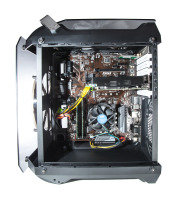 EXDISPLAY Contour Helios ATX Cube Gaming Case