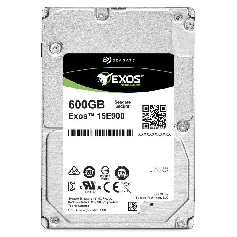 "Image of Seagate Exos 600GB E-Class Mission Critical Hard Drive 2.5"" SAS 15K 512N / 4KN"