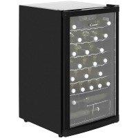 Candy CCV150BL Freestanding Wine Cooler Black