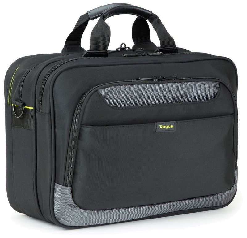 "Targus CityGear 15.6"" Topload Laptop Case With Printer Section - Black"