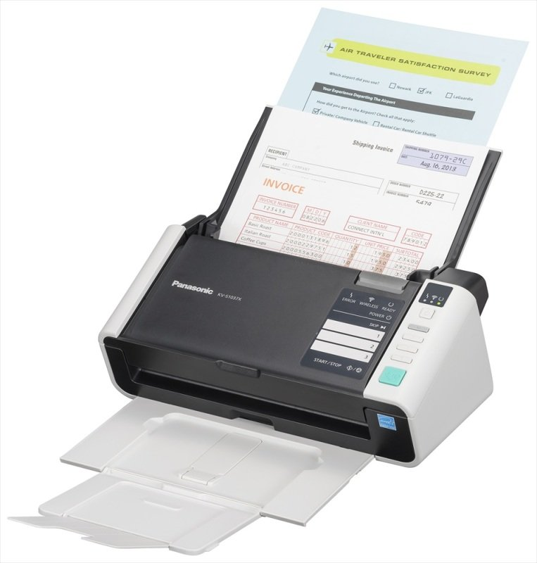 Panasonic KV-S1037X A4 Colour Network & Wireless Document Scanner