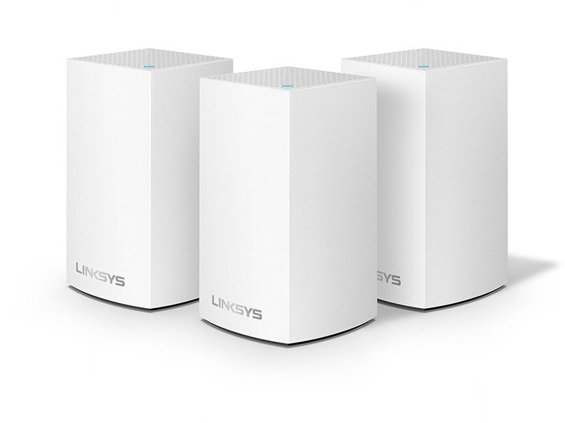 Linksys Velop Intelligent Whole Home WI-FI Mesh System 3 Pack
