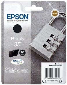 Epson Durabrite Padlock Black 35 Ultra Ink