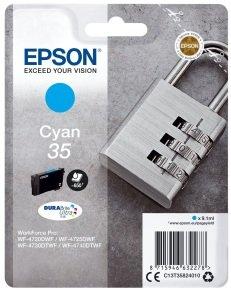 Epson Durabrite Padlock Cyan 35 Ultra Ink