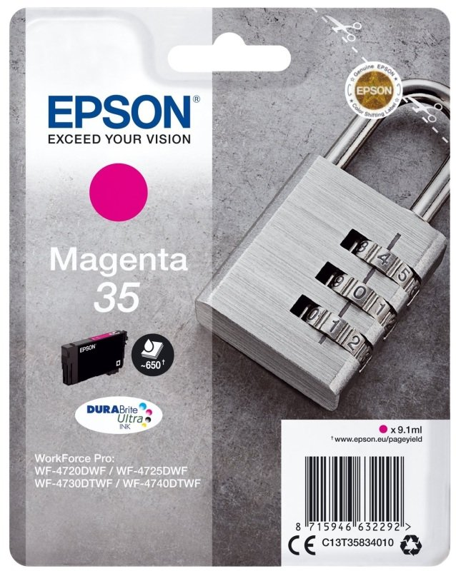 Epson Durabrite Padlock Magenta 35 Ultra Ink