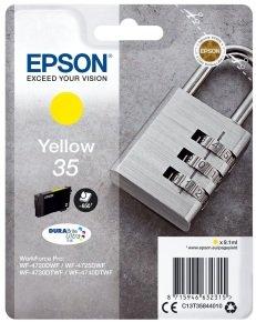 Epson Durabrite Padlock Yellow 35 Ultra Ink