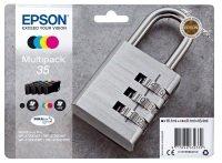 Epson Durabrite Padlock Multipack C/M/Y/K 35 Ultra Ink
