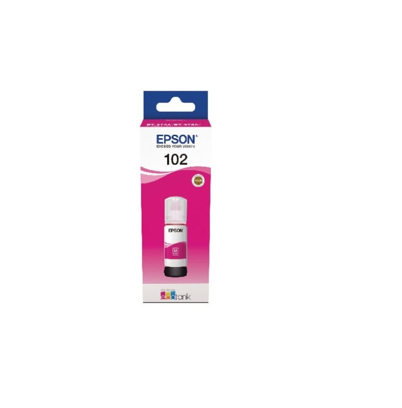 Epson 102 Magenta ECOTANK Ink Bottle - 70 ml