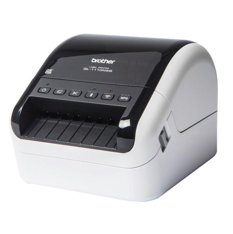 Brother QL-1110NWB Wireless Barcode Label Printer