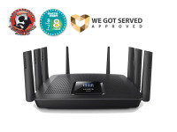 Linksys Max-Stream Tri-band Gigabit Smart Wi-fi Router AC5400