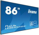 "Iiyama ProLite LE8640UHS-B1 86"" 4K UHD Large Format Display"