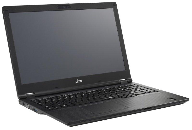 "Fujitsu LIFEBOOK E458 Intel Core i5, 15.6"", 8GB RAM, 256GB SSD, Windows 10, Notebook - Black"