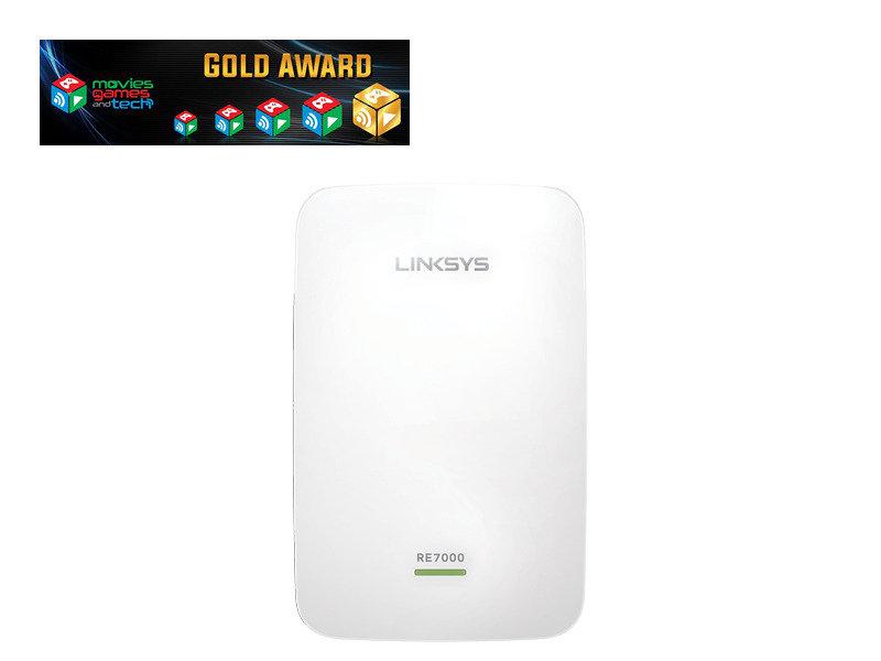 Linksys RE7000 MAX-STREAM AC1900+ MU-MIMO Wi-Fi Range Extender/Wireless Signal Booster
