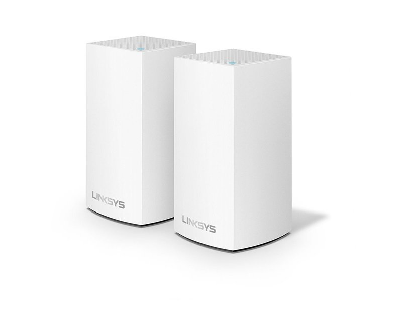 Linksys AC2400 Velop Whole Home Intelligent Mesh Wi-Fi System  Dual-Band - 2 PACK