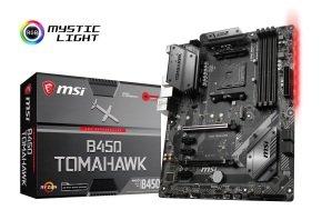 MSI B450 TOMAHAWK AM4 DDR4 ATX Motherboard