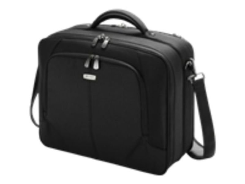 "Image of Dicota MultiTwin Notebook Case, For Laptops up to 15.6"" - Black"