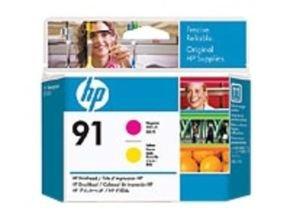 HP 91 Yellow and Magenta Printhead