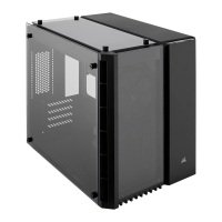 EXDISPLAY Corsair Crystal 280X Black Micro ATX Case